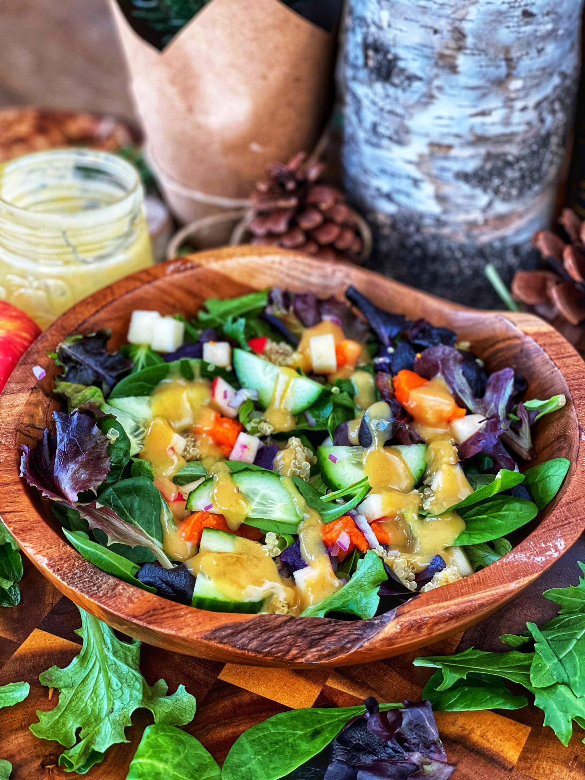 Sweet potato quinoa salad 2